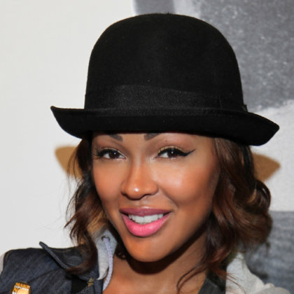 Meagan Good at the will.i.am #willpower Wrap Party at the Avalon in Hollywood, CA on August 13, 2012