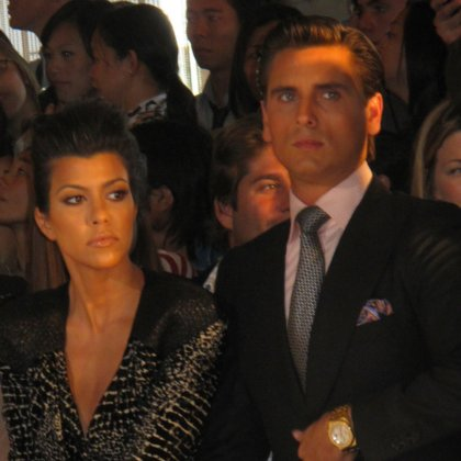 Kourtney Kardashian at Mercedes-Benz Fashion Week 2010