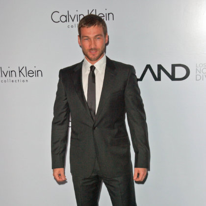 Andy Whitfield at the Calvin Klein Collection Party to Celebrate LA Arts Month, Calvin Klein Store, Los Angeles, CA. 01-28-10