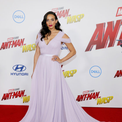 Hannah John-Kamen at the premiere of 'Ant-Man And The Wasp' held at the El Capitan Theatre in Hollywood, USA on June 25, 2018.