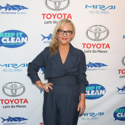 Rachael Harris at the Keep It Clean Comedy Benefit For Waterkeeper at the Avalon Hollywood on April 21, 2016 in Los Angeles, CA