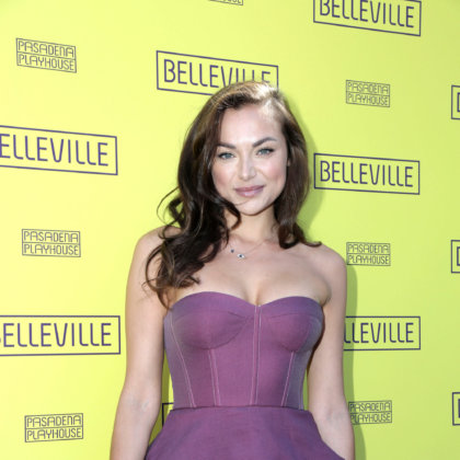 "Christina Ochoa Lopez at the ""Belleville"" Opening Night Red Carpet on the Pasadena Playhouse on April 22, 2018 in Pasadena, CA"