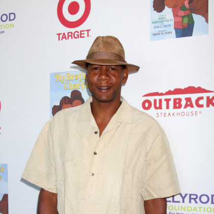 Mark Curry arrives at the 3rd Annual My Brother Charlie Family Fun Festival at Culver Studios on August 12, 2012 in Culver City, CA