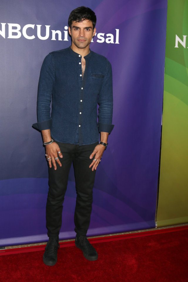 Sean Teale at the NBCUniversal Cable TCA Summer Press Tour at the Beverly Hilton Hotel on August 3, 2016 in Beverly Hills, CA
