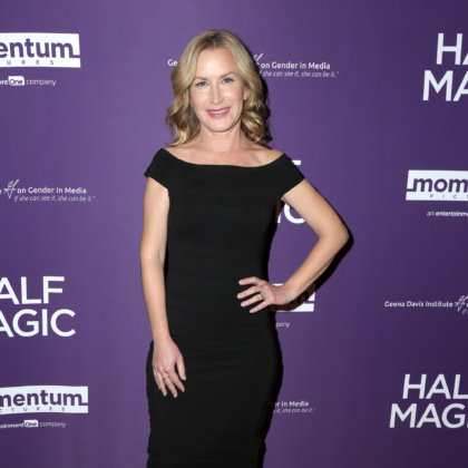 "Angela Kinsey at the ""Half Magic"" Special Screening at The London on February 21, 2018 in West Hollywood, CA"