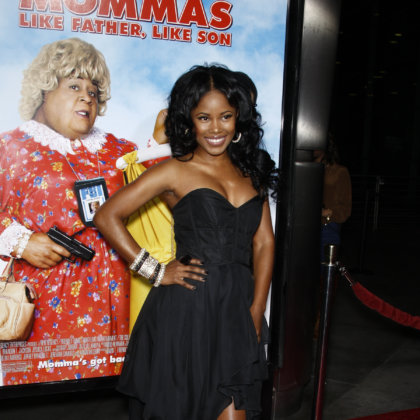 Jasmine Burke at the premiere of 'Big Mommas: Like Father, Like Son' at the Cinerama Dome in Los Angeles, California on February 10, 2011