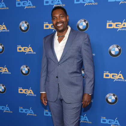 Mykelti Williamson arrives for the Director Guild Awards on February 3, 2018 in Beverly Hills, CA