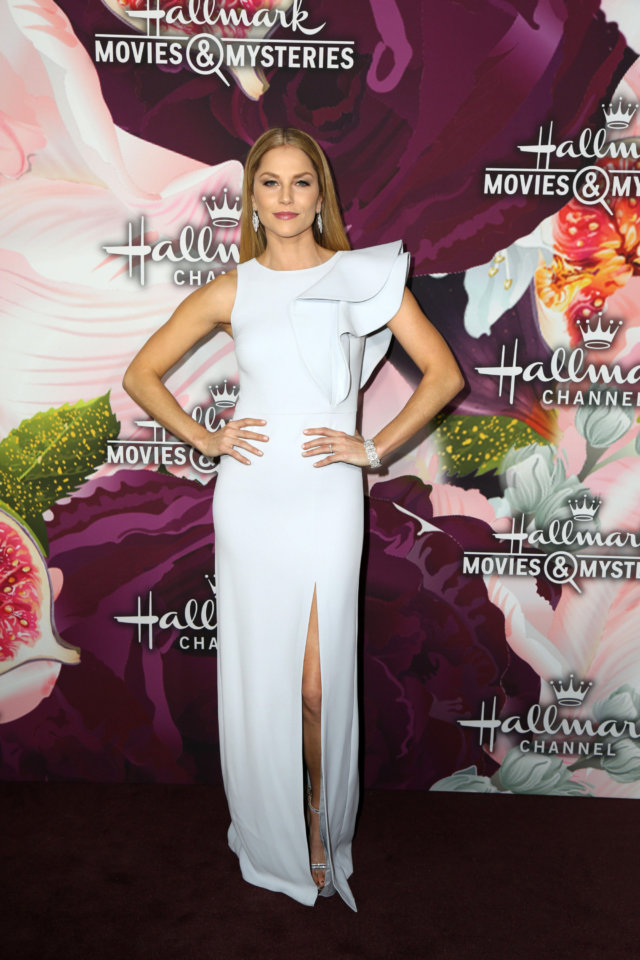 Ellen Hollman at the Hallmark Channel and Hallmark Movies and Mysteries Winter TCA Event at the Tournament House on January 13, 2018 in Pasadena, CA