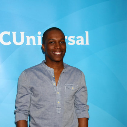 Leslie Odom Jr. attends the NBCUniversal TCA Winter Press Tour at Langham Huntington Hotel on January 6, 2013 in Pasadena, CA