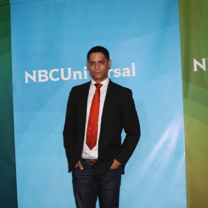 Charlie Barnett arrives at the NBC TCA Summer Press Tour at Beverly Hilton Hotel on July 24, 2012 in Beverly Hills, CA