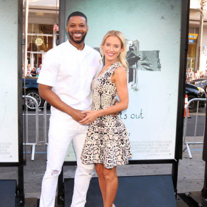 "Kerry Rhodes, Nicky Whelan at the ""Lights Out"" Premiere at the TCL Chinese Theater IMAX on July 19, 2016 in Los Angeles, CA"