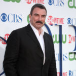 Tom Selleck arrives at the CBS, The CW, Showtime Summer Press Tour Party at The Tent Adjacent to Beverly Hilton Hotel on July 28, 2010 in Beverly Hills, CA