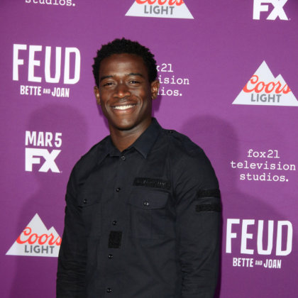 "Damson Idris at the ""Feud: Bette And Joan"" Premiere Screening at the TCL Chinese Theater IMAX on March 1, 2017 in Los Angeles, CA"