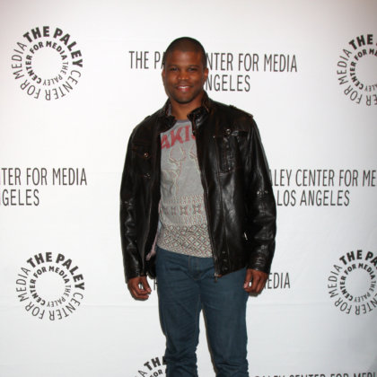 "Sharif Atkins arriving at the ""White Collar"" PaleyFest at Saban Theatre on March 7, 2011 in Beverly Hills, CA"