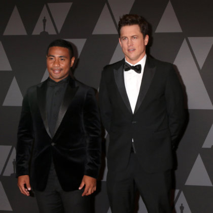 Beulah Koale, Jason Hall_ at the AMPAS 9th Annual Governors Awards at Dolby Ballroom on November 11, 2017 in Los Angeles, CA