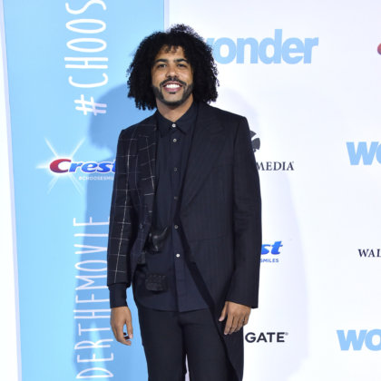 Daveed Diggs arrives for the 'Wonder' World Premiere on November 14, 2017 in Westwood, CA