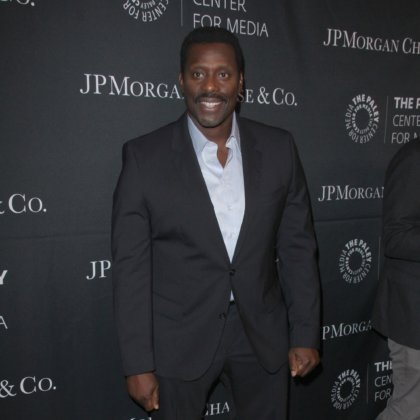 Eamonn Walker at the Paley Center's Hollywood Tribute to African-Americans in TV at the Beverly Wilshire Hotel on October 26, 2015 in Beverly Hills, CA