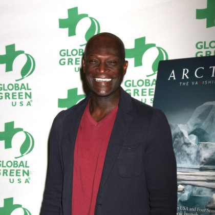 "Peter Mensah at the Global Green Hosts Book Lauch of ""ARCTICA: The Vanishing North"" at the Four Seasons Hotel Los Angeles on October 29, 2015 in Beverly Hills, CA"