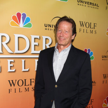 "Peter Strauss arrives at the  ""Law & Order: Los Angeles"" Premiere Party at W Hollywood Hotel on September 27, 2010 in Los Angeles, CA"