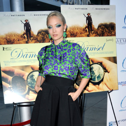 Pom Klementieff at the premiere of 'Damsel' held at the Arclight Cinemas in Hollywood, USA on June 13, 2018.