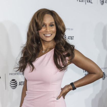 Beverly Johnson attends the Tribeca Film Festival - 'Clive Davis: The Soundtrack Of Our Lives' world premiere - opening night at Radio City Music Hall New York NY USA April 19 2017