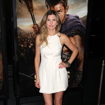 "Viva Bianca at the ""Spartacus: War Of The Damned"" Premiere, Regal Cinemas, Los Angeles, CA 01-22-13"