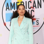 Ella Mai at the American Music Awards at the Microsoft Theater on October 9, 2018 in Los Angeles, CA